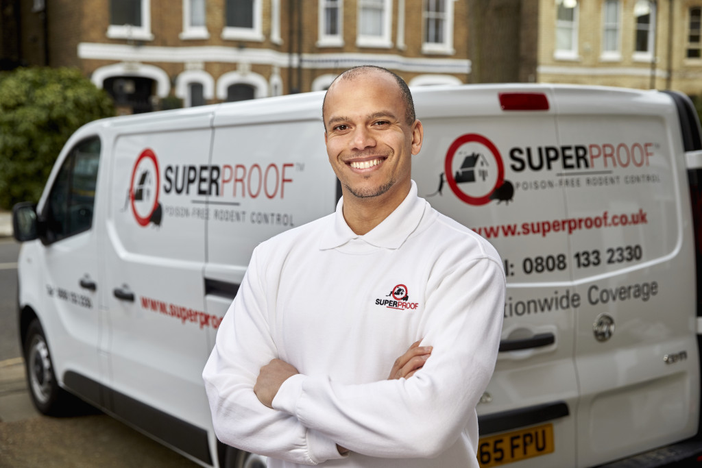 Picture by www.edwardmoss.co.uk All rights reserved Superproof pest control. London.